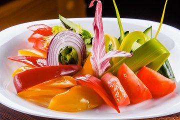 Овощная тарелка